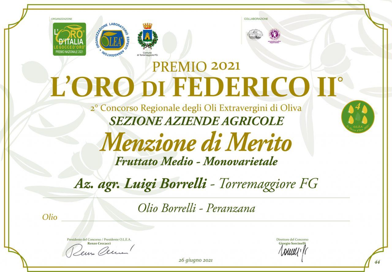 Oro-Federico-II-2021