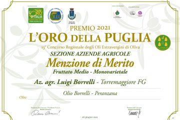 Oro Puglia 2021